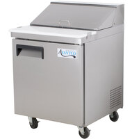 Avantco APT-27-HC 27 inch 1 Door Refrigerated Sandwich Prep Table