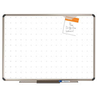 Quartet TE563T 36 inch x 24 inch Prestige Total Erase Dry Erase Board with Euro Frame