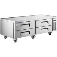 Avantco CBE-72-HC 72 inch 4 Drawer Refrigerated Chef Base