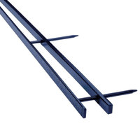Swingline GBC 9741631 VeloBind Blue Reclosable Spines with 200 Sheet Capacity - 25/Pack