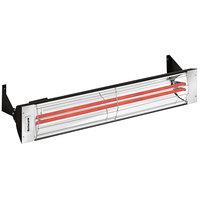 Schwank ES-5039-20 2 Stage Electric Black Indoor/Outdoor Patio Heater - 208V, 5000W