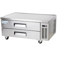 Avantco CBE-52-HC 52 inch 2 Drawer Refrigerated Chef Base