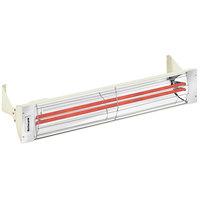 Schwank ES-5039-20 2 Stage Electric Almond Indoor/Outdoor Patio Heater - 208V, 5000W