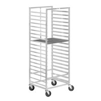 Channel 557A 7 Screen Bottom Load Donut Screen Rack - Assembled