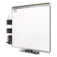 Quartet TE543AP2 Prestige 2 36 inch x 24 inch Total Erase Whiteboard with Aluminum Frame