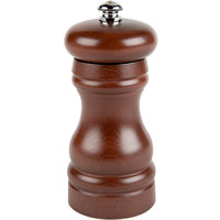 Fletchers' Mill FED04PM12-14 Federal 4 inch Walnut Stain Wooden Pepper Mill