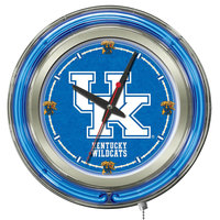 Holland Bar Stool Clk15UKY-UK University of Kentucky 15 inch Neon Clock