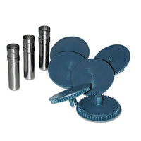 Swingline 74872 160 Sheet High Capacity Punch Head - 9/23 inch Holes - 8/Set