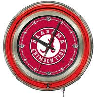 Holland Bar Stool Clk15AL-A University of Alabama 15 inch Neon Clock