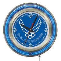 Holland Bar Stool Clk15AirFor United States Air Force 15 inch Neon Clock