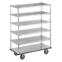 Channel QMA2860-6 Queen Mary Banquet Service Cart with 6 Shelves