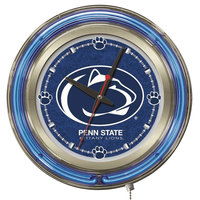 Holland Bar Stool Clk15PennSt Penn State University 15 inch Neon Clock