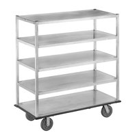 Channel QMA2860-5 Queen Mary Banquet Service Cart with 5 Shelves