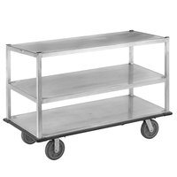 Channel QMA2860-3 Queen Mary Banquet Service Cart with 3 Shelves