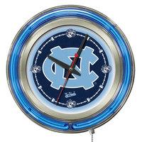Holland Bar Stool Clk15NorCar University of North Carolina 15 inch Neon Clock