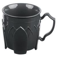Dinex DX500044 Fenwick 8 oz. Graphite Grey Insulated Mug - 48/Case