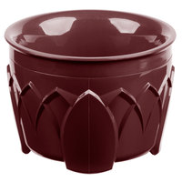 Dinex DX520061 Fenwick 5 oz. Cranberry Insulated Bowl - 48/Case