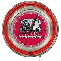 Holland Bar Stool Clk15AL-Ele University of Alabama 15 inch Neon Clock