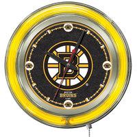 Holland Bar Stool Clk15BosBru Boston Bruins 15 inch Neon Clock