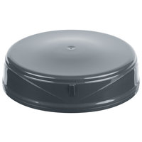 Dinex DX3353IL44 DuraTherm Graphite Grey Insulated 9 oz. Soup Bowl Lid - 48/Case