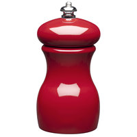 Fletchers' Mill MAR04PM22 Mario Batali 4 inch Cinnabar Pepper Mill