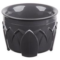 Dinex DX520044 Fenwick 5 oz. Graphite Grey Insulated Bowl - 48/Case