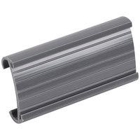 Regency 3 inch x 1 1/4 inch Gray Label Holder