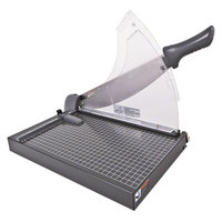 Swingline 98150 10 1/2 inch x 17 1/2 inch 40 Sheet Heavy-Duty Low Force Guillotine Trimmer with Metal Base