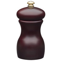 Fletchers' Mill MAR04PM46 Mario Batali 4 inch Mahogany Stain Pepper Mill