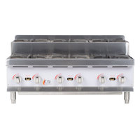 Cooking Performance Group CK-HPSU636 6 Burner Step-Up Countertop 36 inch Range