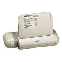 Swingline 74532 28 Sheet Platinum Silver Electric 2 Hole Punch - 1/4 inch