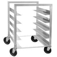 Channel STPR-33 18 Pan End Load Heavy-Duty Aluminum Steam Table Pan Rack - Assembled