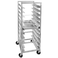 Channel STPR-56 22 Pan End Load Heavy-Duty Aluminum Steam Table Pan Rack - Assembled