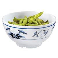 GET M-706-B Water Lily 24 oz. Melamine Bowl - 12/Pack
