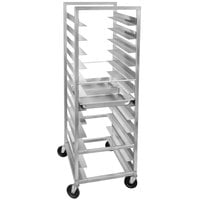 Channel STPR-8 16 Pan End Load Heavy-Duty Aluminum Steam Table Pan Rack - Assembled