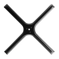 Lancaster Table & Seating 30 inch x 30 inch Cross Table Base Plate