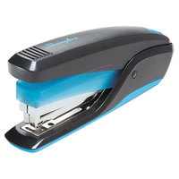 Swingline 64506 QuickTouch 20 Sheet Black / Blue Reduced Effort Full Strip Stapler