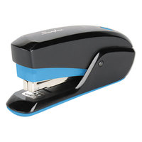 Swingline 64564 QuickTouch 20 Sheet Black / Blue Reduced Effort Compact Stapler