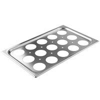 Vollrath 75062 15 Hole Plate for Full Size Egg Poacher