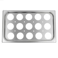Vollrath 75062 15 Hole Plate for Full Size Egg Poacher