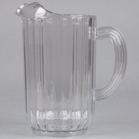 Rubbermaid 3339 72 oz. Plastic Bouncer Pitcher (FG333900CLR)