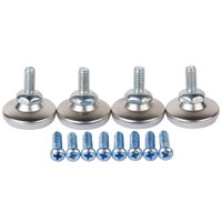 Lancaster Table & Seating 12 Piece Floor Glide and Screw Table Base Hardware Kit