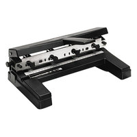 Swingline 74450 40 Sheet Adjustable 2-to-4 Hole Punch - 9/32 inch
