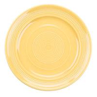 Tuxton Concentrix CSA-090 Saffron 9 inch China Plate 24/Case