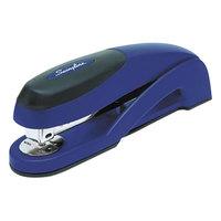 Swingline 87802 Optima 25 Sheet Metallic Blue Full Strip Desk Stapler