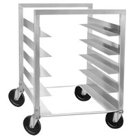Channel STPR-83 8 Pan End Load Heavy-Duty Aluminum Steam Table Pan Rack - Assembled