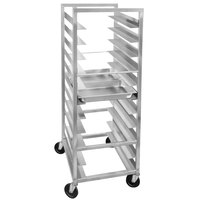 Channel STPR-36 34 Pan End Load Heavy-Duty Aluminum Steam Table Pan Rack - Assembled