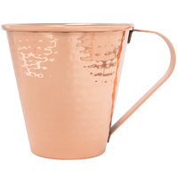 Core 18 oz. Tapered Moscow Mule Cup with Hammered Copper Finish - 12/Case