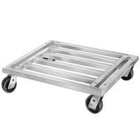 Channel MD2424 24 inch x 24 inch Mobile Aluminum Dunnage Rack - 1200 lb.