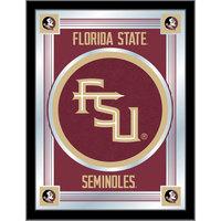 Holland Bar Stool MLogoFSU-FS 17 inch x 22 inch Florida State University Decorative Logo Mirror